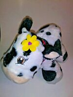 "Little Brownie Black And White Cow   13"" Plush Stuffed Animal"