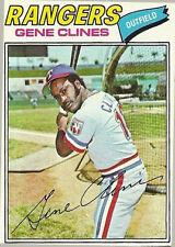 1977 Topps Gene Clines #237 Baseball Card