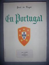 Paul de Laget: En Portugal, 47 planches Hors texte, 1931, BE