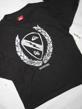 NEW YOUTH BOYS QUIKSILVER L/S T-SHIRT BLACK LARGE 16/18