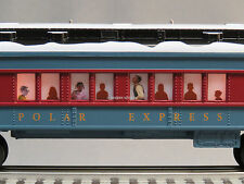 LIONEL POLAR EXPRESS COACH TRAIN CAR O GAUGE passenger snow 6-84328-C NEW DESIGN
