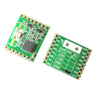 1 Piece RFM69HC SPI 20dBm High Power Wireless Transceiver Module Board