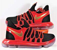 premium selection f8c8f 8c9d0 Nike Zoom KD 10 LE GS Black   Red Basketball Shoes Sz 6.5Y NEW AJ7220