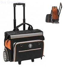 Klein Tools Tradesman Pro Organizer Rolling Tool Bag Pouch Tote Box Storage