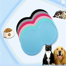Rubber Nonslip Feeding Bowl Mat For Cat/Kitten Dog/Puppy Food/Water