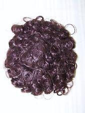 Grace Auburn Curly Short Bun Ponytail Hair Piece Wig