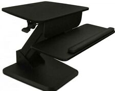MOUNT-IT! SIT-STAND CONVERTER FOR LAPTOP, DESKTOP, MONITOR, ERGONOMIC FREE STAND