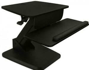 MOUNT-IT! SIT-STAND CONVERTER FOR LAPTOP, DESKTOP, MONITOR, ERGONOMIC FREE STAND