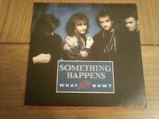 "Something Happens: What Now   7""    UNPLAYED NEW EX SHOP STOCK"