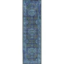 Nuloom 8' x 10' Vintage Reiko Rug in Blue