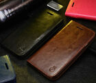 MUSUBO Leather Wallet Card Holder Stand Flip Case Cover for Apple iPhone 7 Plus