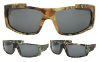 MOSSY SWAMP CAMO CAMOUFLAGE WRAP AROUND HUNTING FISHING SUNGLASSES OUTDOOR SPORT