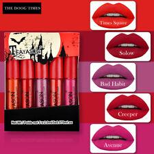 5pcs Liquid Lipstick Set Waterproof Lipgloss Makeup Tool Matte Velvet Lip Gloss