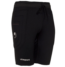 Uhlsport Precision Thermo Slider Wicking Tech Pro Soccer Goalkeeper Shorts $60 M