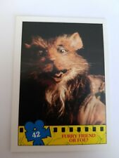 TOPPS 1990 TEENAGE MUTANT NINJA TURTLES MOVIE TRADING CARD # 42
