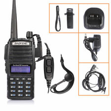 Baofeng UV-82L V/UHF 136-174/400-520MHz Two-way Radio Walkie Talkie + Earpiece