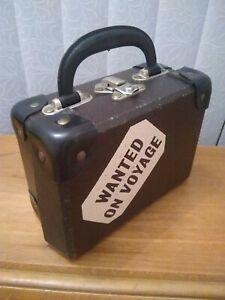 Rare vintage Paddington wanted on voyage suitcase 1980 Gabrielle designs cheney
