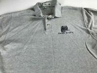Penn State Polo Shirt VTG Mens SZ M/L Student Alumni Nittany Lions USA Made PSU