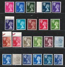GREAT BRITAIN Scotland 1971-93 V.F. MNH Stamps Set Scott # SMH1/SMH53 CV 21.65 $