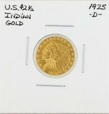 1925-D $2 1/2 Indian Head Gold Coin Lot 35