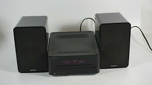 ONKYO CR-265 CD Mini Stereoanlage schwarz Kompaktanlage USB CD Bluetooth