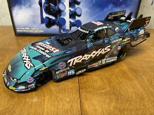 """2016 NHRA  Courtney Force  """"BLUE TRAXXAS"""" Chevy Camaro Funny Car 1/24 Action"""