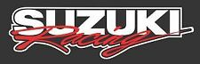 Suzuki Racing Logo Vinyl Decal Sticker Swift Hayabusa Samurai GSX Motocross