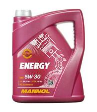 5L Mannol Energy 5W-30 Motoröl 5W30 Motorenöl VW 502.00 505.00 MB 229.3 ACEA B3