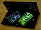 REVOX side panels black A720 High-quality wooden sides, glossy BLACK GLOSSY