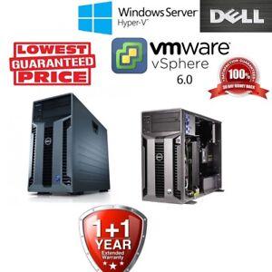 Dell PowerEdge T610 2x quad Core 5606 CPU 24GB DDR3 RAM H700