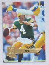 BRETT FAVRE - Pinnacle 1995 #95 Playercard (Green Bay PACKERS)