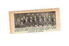 Gettysburg College Bullets & Swarthmore University PA 1928 Football Team Picture