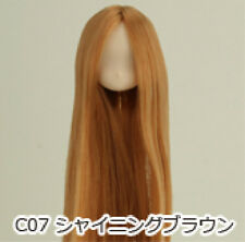 Obitsu Doll 11cm hair implantation head for Whity body (11HD-F01WC07) S BRN