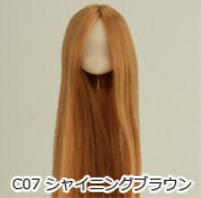 Obitsu Doll 11cm hair implantation head for Whity body (11HD-D01WC07) S BRN