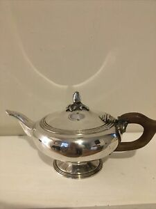 Antique French Teapot Silver Plate By Christofle
