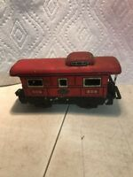 Vintage - MARX - New York Central - Tin Train Caboose 556
