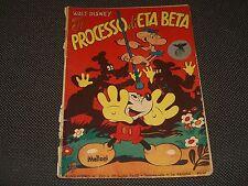 """ALBO D'ORO N.220 I° EDIZIONE 1950 IL PROCESSO DI ETA BETA - BUONO """"U"""""""