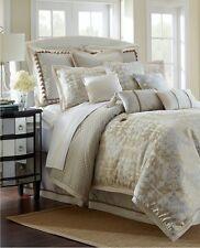New Waterford Linens Olivette 4 Piece King Comforter Sham Bedskirt Set