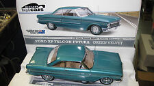 1/18 DIECAST REPLICAR FORD XP FALCON FUTURA 2 DOOR GREEN VELVET LTD ED #17001
