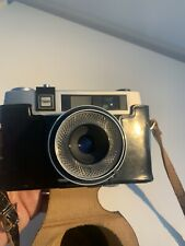 1960s Taron Auto EE SLR 35mm Camera w/ Original Leather Case WORKING TESTED
