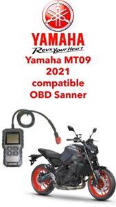 Yamaha  FI, OBD2 fault code scanner diagnostic tool MT09 2021