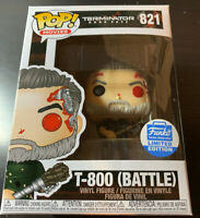 Funko Pop Movies Terminator Dark Fate T800 Battle #821