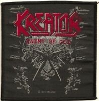 Official Licensed Merch Woven Sew-on PATCH Heavy Metal KREATOR Enemy of God