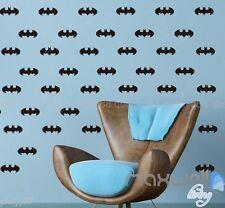 48 Batman logo Super Hero Wall Decals Stickers Kids Nursery Vinyl Art Home Decor