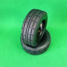 Tamiya On Road Racing Truck Tyres Tires for 1:14 RC TT01 TT02 trucks suit 58632