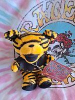 "Grateful Dead SAMSON Plush Bear 6"" Beanie Baby - 6/21/80 - WEST HIGH AUDITORIUM"