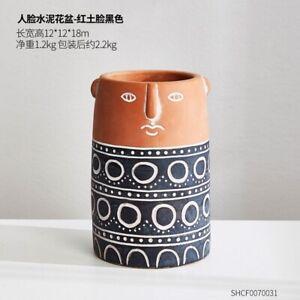 Flower Pot Nordic Style Art Vases Sculpture Home Plant Pot Ceramic Vase Decor