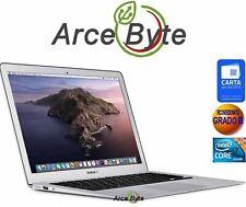 "APPLE MACBOOK AIR 13"" INTEL CORE i7 2.2GHZ 2015 FATTURABILE RAM 8GB SSD CATALINA"