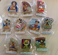 Disney Cast Member Exclusive Disney Salutes Pin Set
