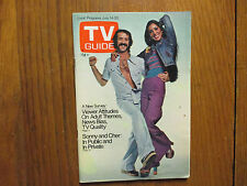 July 7, 1973 TV Guide (SONNY  AND  CHER/SONNY  BONO/MICHAEL  TILSON  THOMAS)